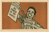 Emory Douglas - The Black Panther Party Newspaper