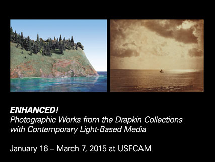 Enhanced! Photographic Works from the Drapkin Collections with Contemporary Light-Based MediaJanuary 16 – March 7, 2015 at USFCAM