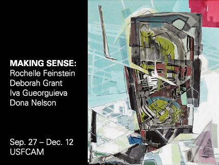 Featuring works from Rochelle Feinstein, Deborah Grant, Iva Gueorguieva, and Dona Nelson.  Through a range of  approaches, they explore painting as a medium, a set of techniques, an  historical institution and a framework for making sense.